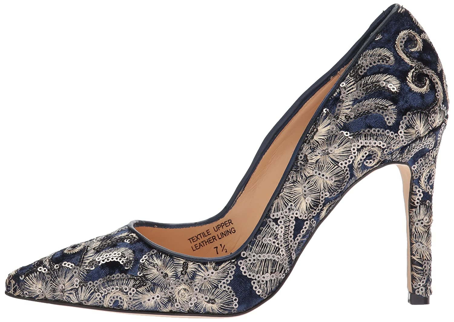 Badgley Mischka Women's Marilou Pump B073BY12WT 8.5 B(M) US|Navy