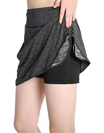 3a75763bc24 EAST HONG Women s Pocket Tennis Skort Running Workout Sport Golf Skirt with  Inner Shorts