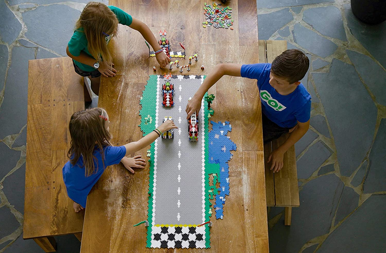 GO 240 Pieces PLUS PLUS Model Vehicle Building Stem // Steam Toy Interlocking Mini Puzzle Blocks for Kids Crazy Cart Car