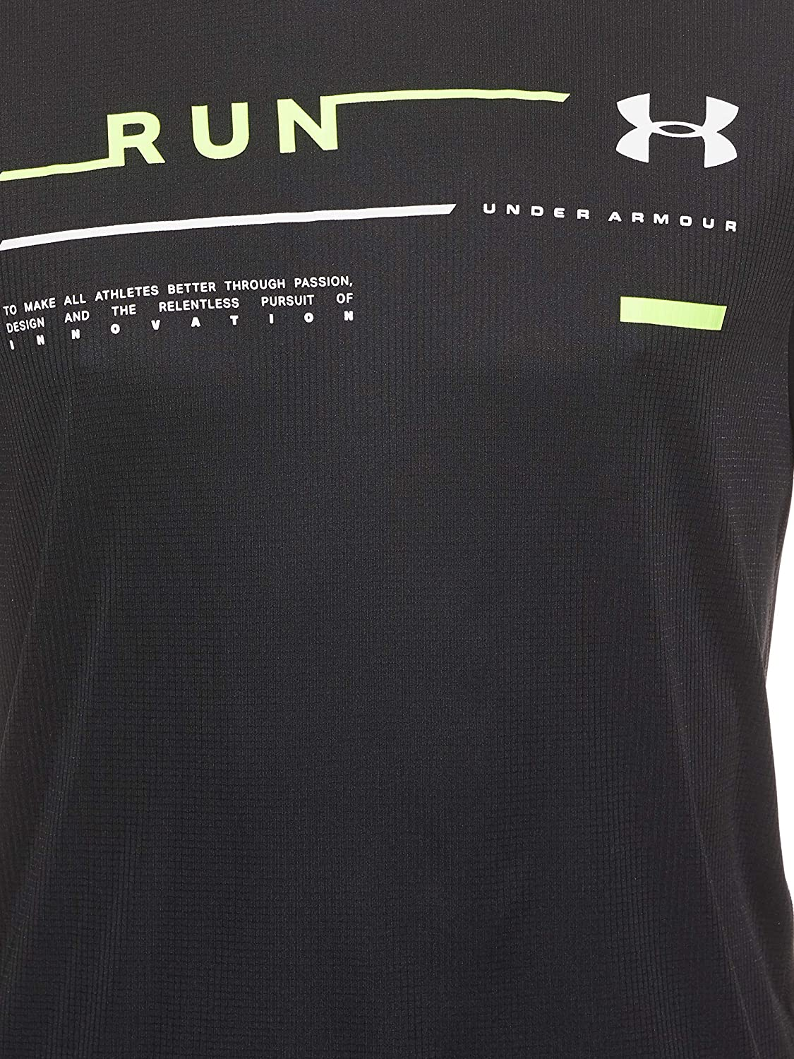 Under Armour mens Run Graphic Tee