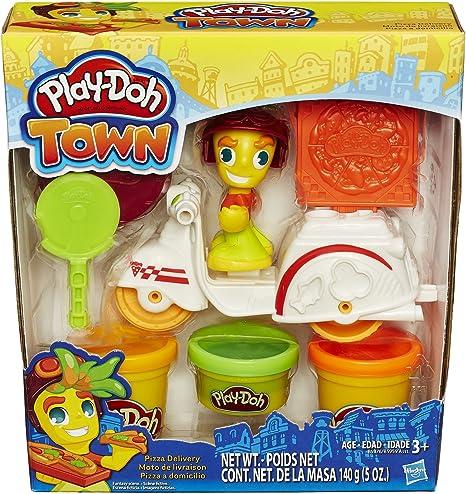 Play-Doh Ciudad Pizza Entrega: Amazon.es: Juguetes y juegos