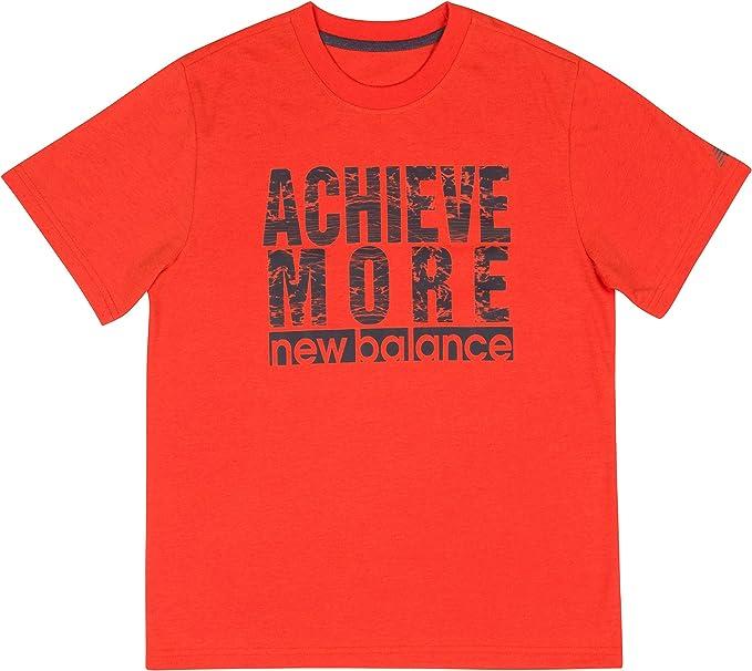 New Balance Boys Short Sleeve Graphic Tee