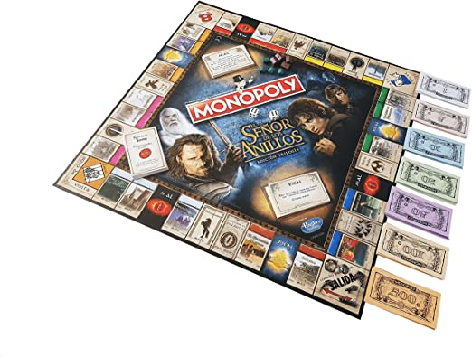 Eleven Force Monopoly El Señor De Los Anillos (63300), Multicolor, Ninguna: Amazon.es: Juguetes y juegos