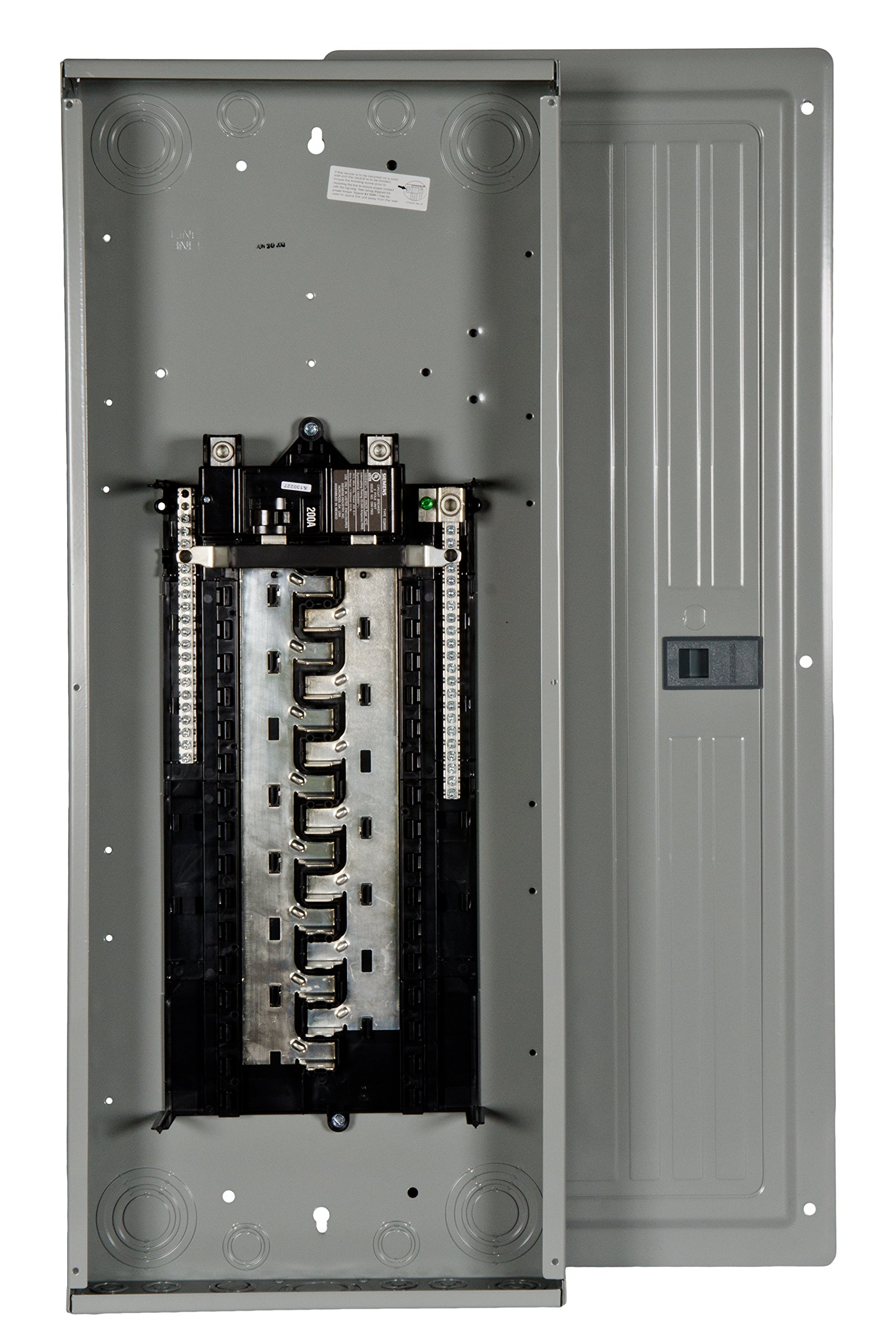 Siemens 30 Space, 40, Circuit,With A 200 Amp, Main Breaker, Indoor Load Center