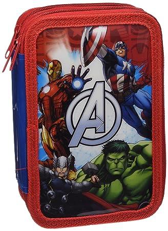 Astro Avengers AS9952 - Plumier con 3 cremalleras: Amazon.es: Oficina y papelería