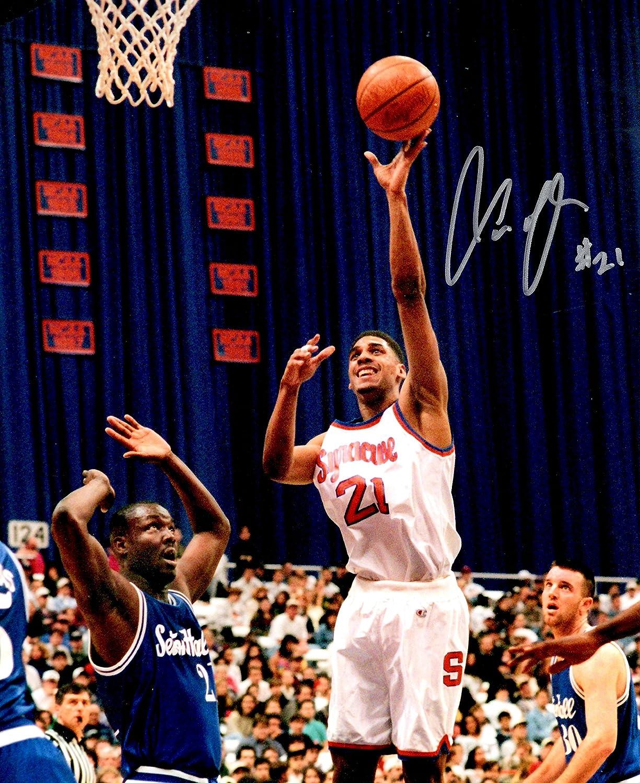 Autographed Lawrence Moten 8x10 Syracuse University Photo