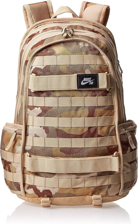 liberal carro Diverso  Amazon.com: Nike Mens SB RPM BACKPACK- AOP CAMO BA6118-220 ...