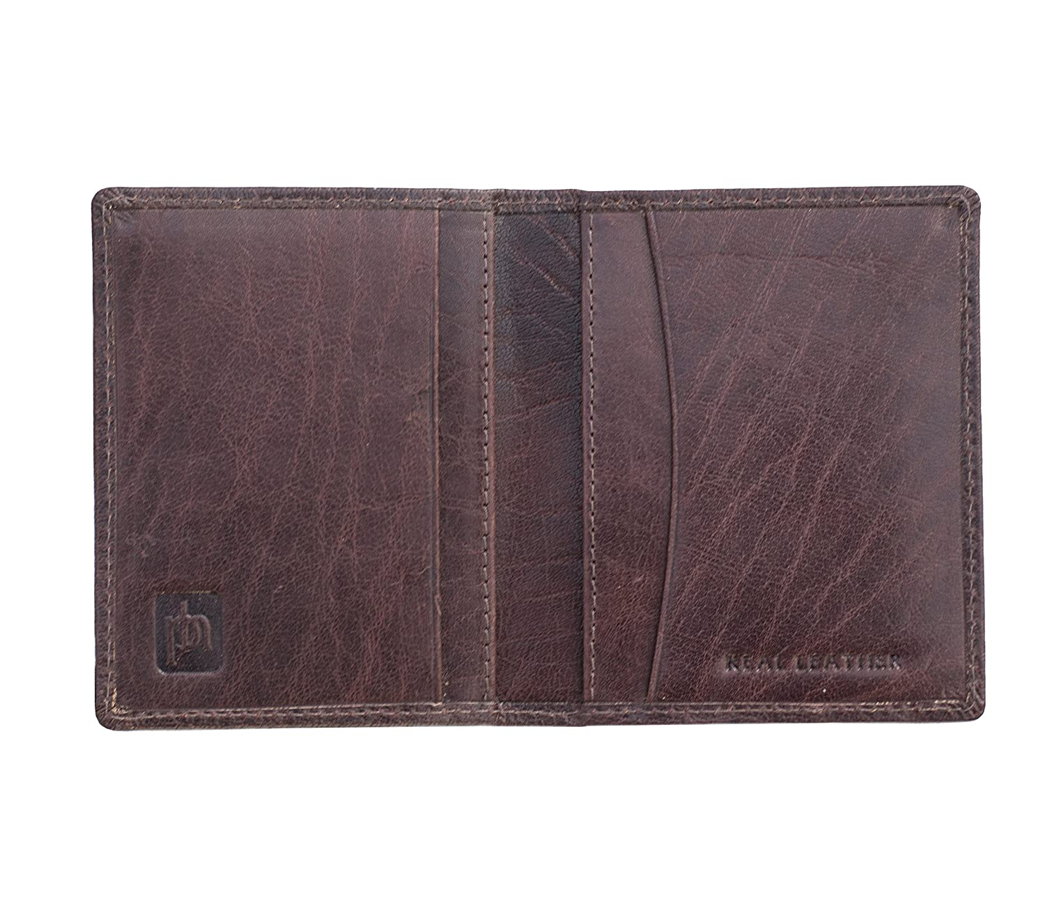 a8562876b52e2 Prime Hide Men s Luxury Brown Leather RFID Blocking Credit Card Holder  Wallet  Amazon.co.uk  Luggage