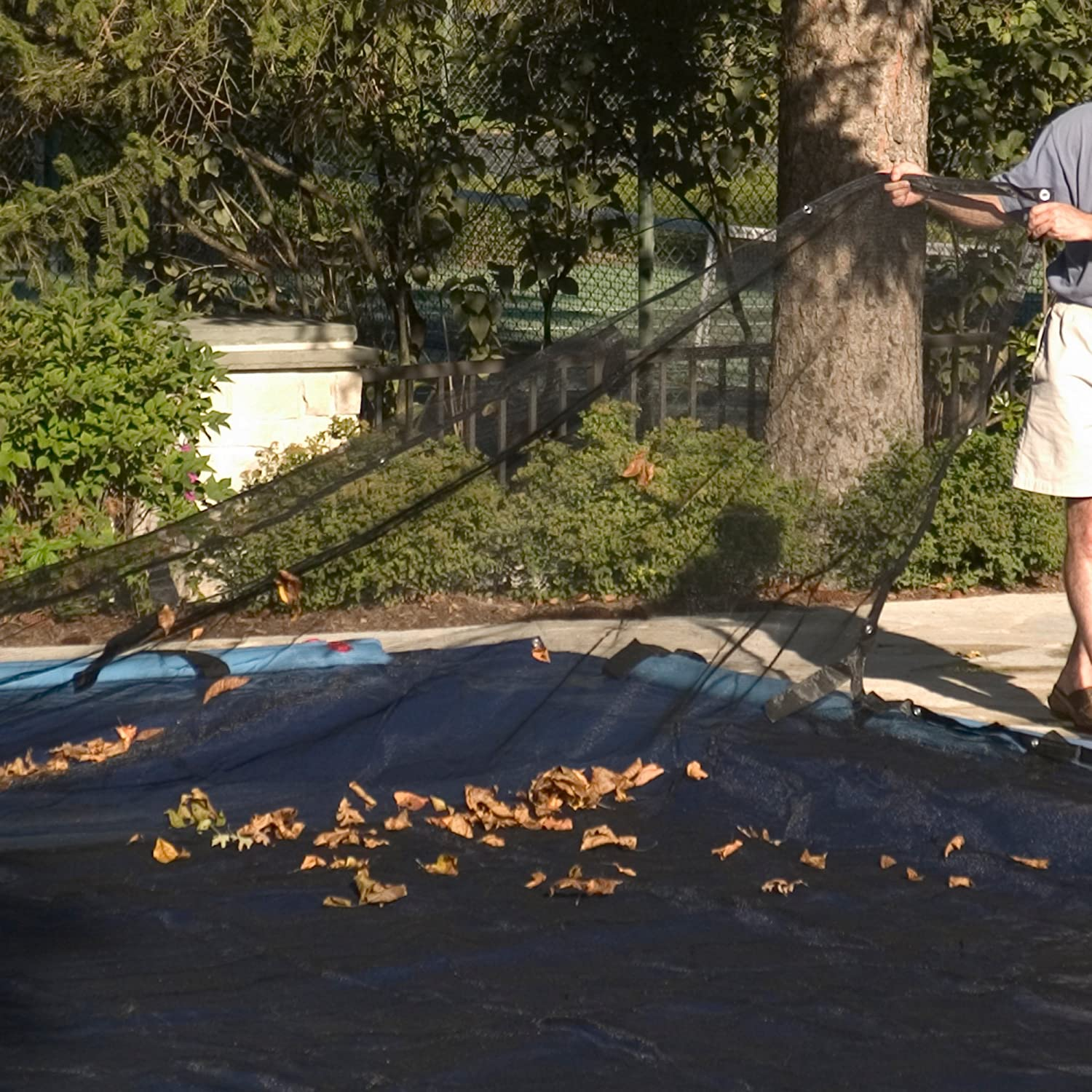 Round Above or In-Ground Swimming Pool Winter Leaf Net Covers  ~ Various Sizes