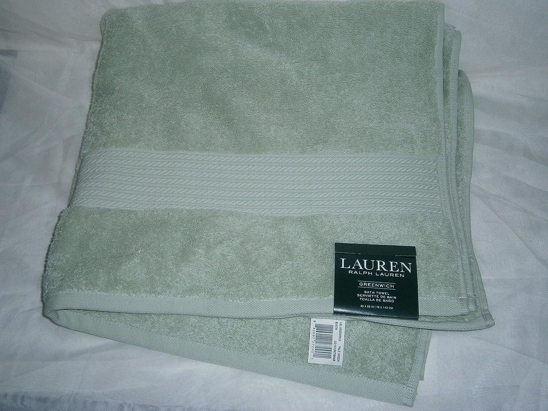 Ralph Lauren - Toalla de baño (56 x 30 cm), color verde: Amazon.es: Hogar