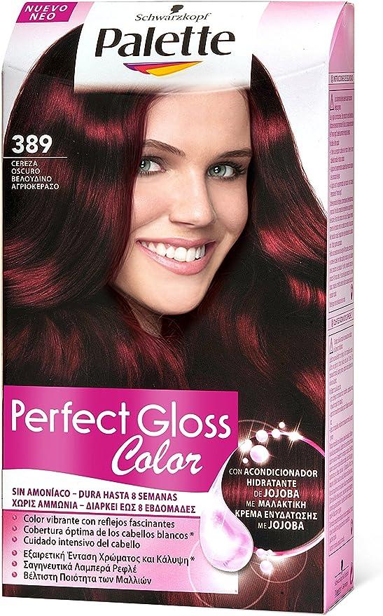 Palette Perfect Gloss 1862148 - Coloración semipermanente/baño de color, tono 389 - [paquete de 3]