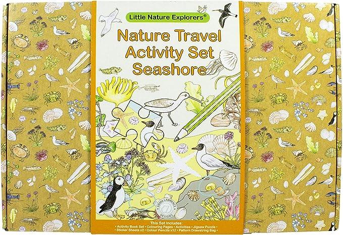 Little Nature Explorers Seashore Travel Activity Set