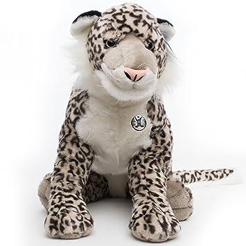 léopard des neiges Jascha 95 cm Peluche peluche léopard ...