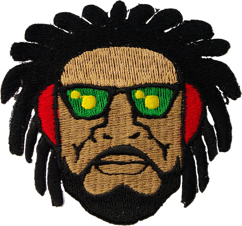 Rastafari Rasta hombre Reggae ropa o Gear hierro en parche D35 ...