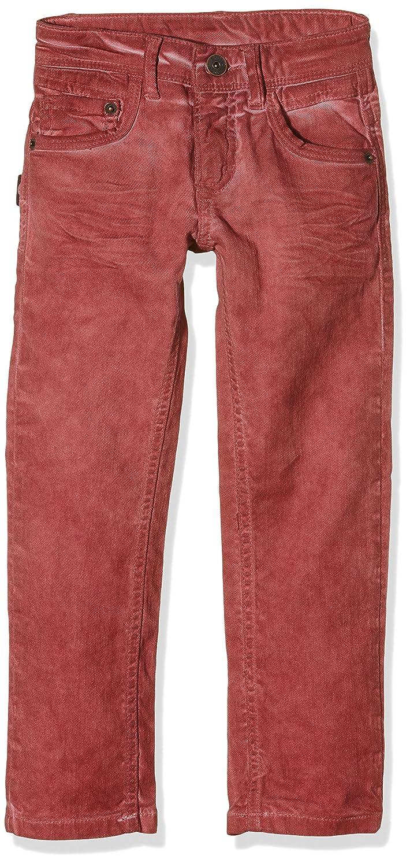 Brums - PANTALONE DRILL COMFORT, Pantaloni da bambino rubino 07 5A 131BFBH003 131BFBH003_766-5A