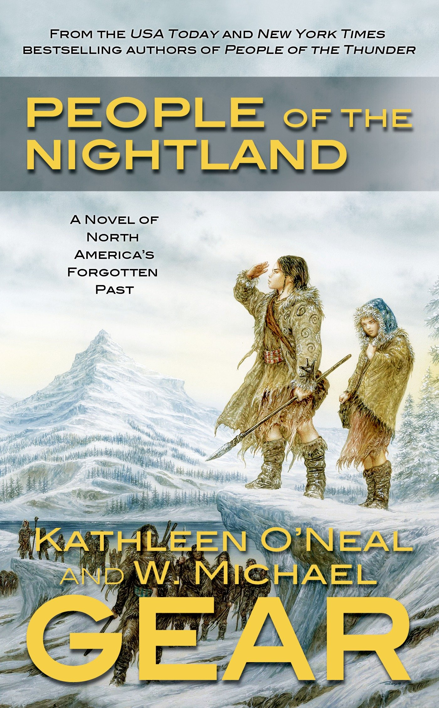 People of the Nightland: A Novel of North America's Forgotten Past pdf epub