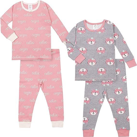 24M Baby Plane Tired 2pc Sleepwear set