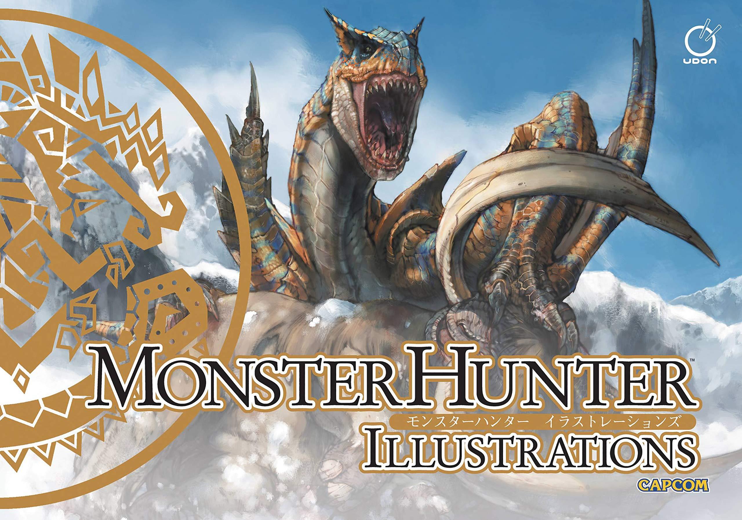 Monster Hunter Illustrations Amazon De Capcom Capcom Fremdsprachige Bucher