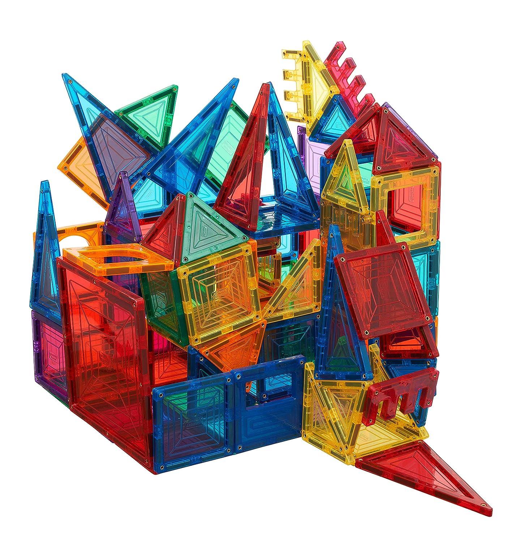 60-piece 3D Magnet Block Building Magnetic Tiles for Kids My Little Architect