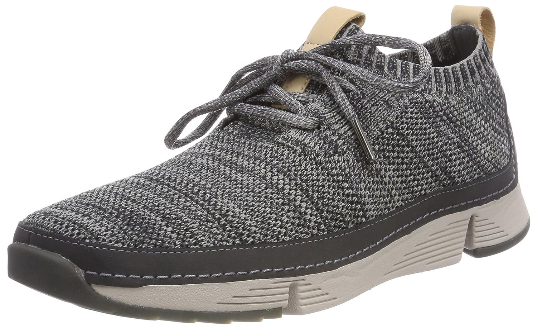 Grey (Dark Grey) Clarks Men's Tri Native Low-Top Sneakers