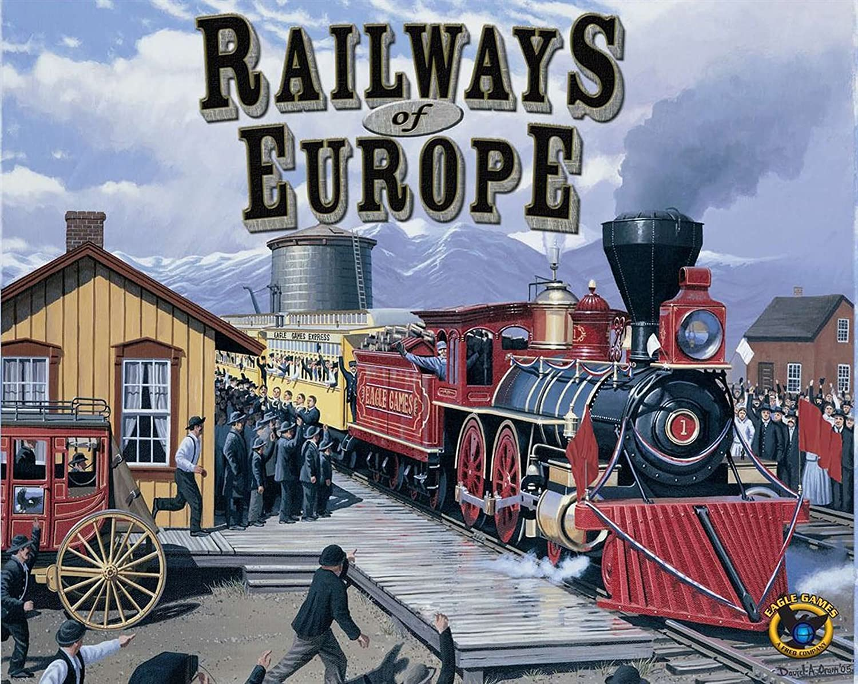 Railways of Europe Eagle Games 1052