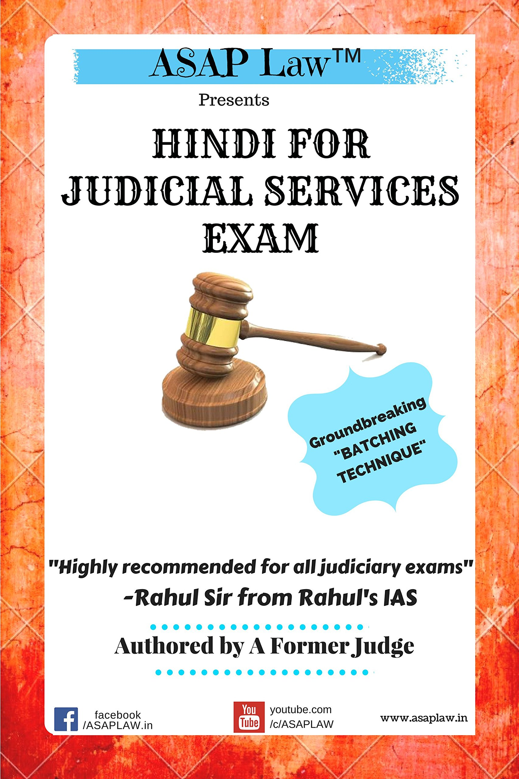 Buy Asap Law Presents Hindi For Judicial Services Exam Book Online