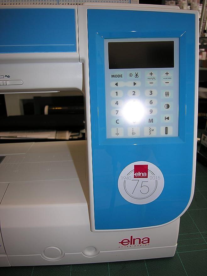 Máquina de coser Elna Experience 580 con 21 cm pulsera rendimiento y programas de punto de 120: Amazon.es: Hogar
