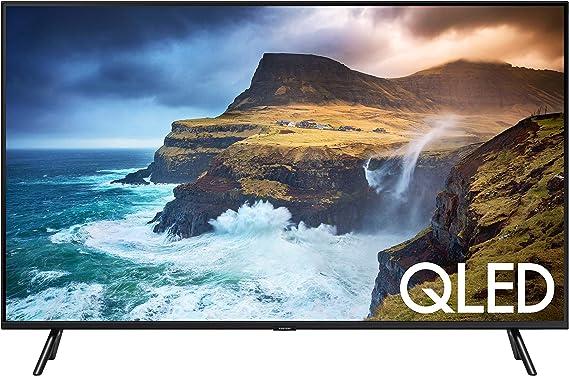 Samsung QN49Q70RAFXZA Flat 49-Inch QLED 4K Q70 Series Ultra HD Smart TV with HDR and Alexa Compatibility (2019 Model)