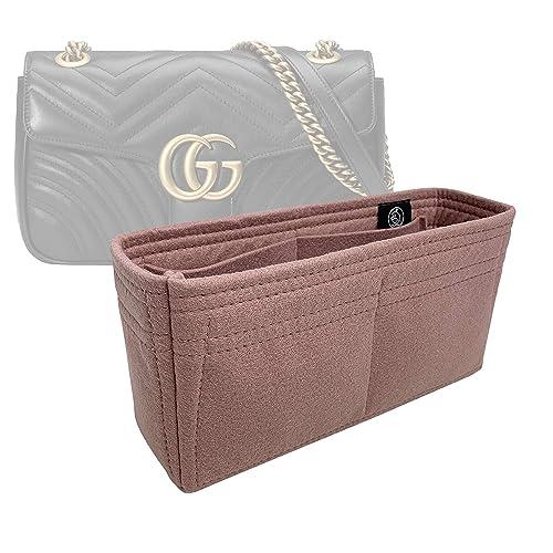fac371ad91cb Amazon.com: Zoomoni Gucci GG Marmont Small Matelasse Shoulder Bag Insert  Organizer - Premium Felt (Handmade/14 Colors): Handmade