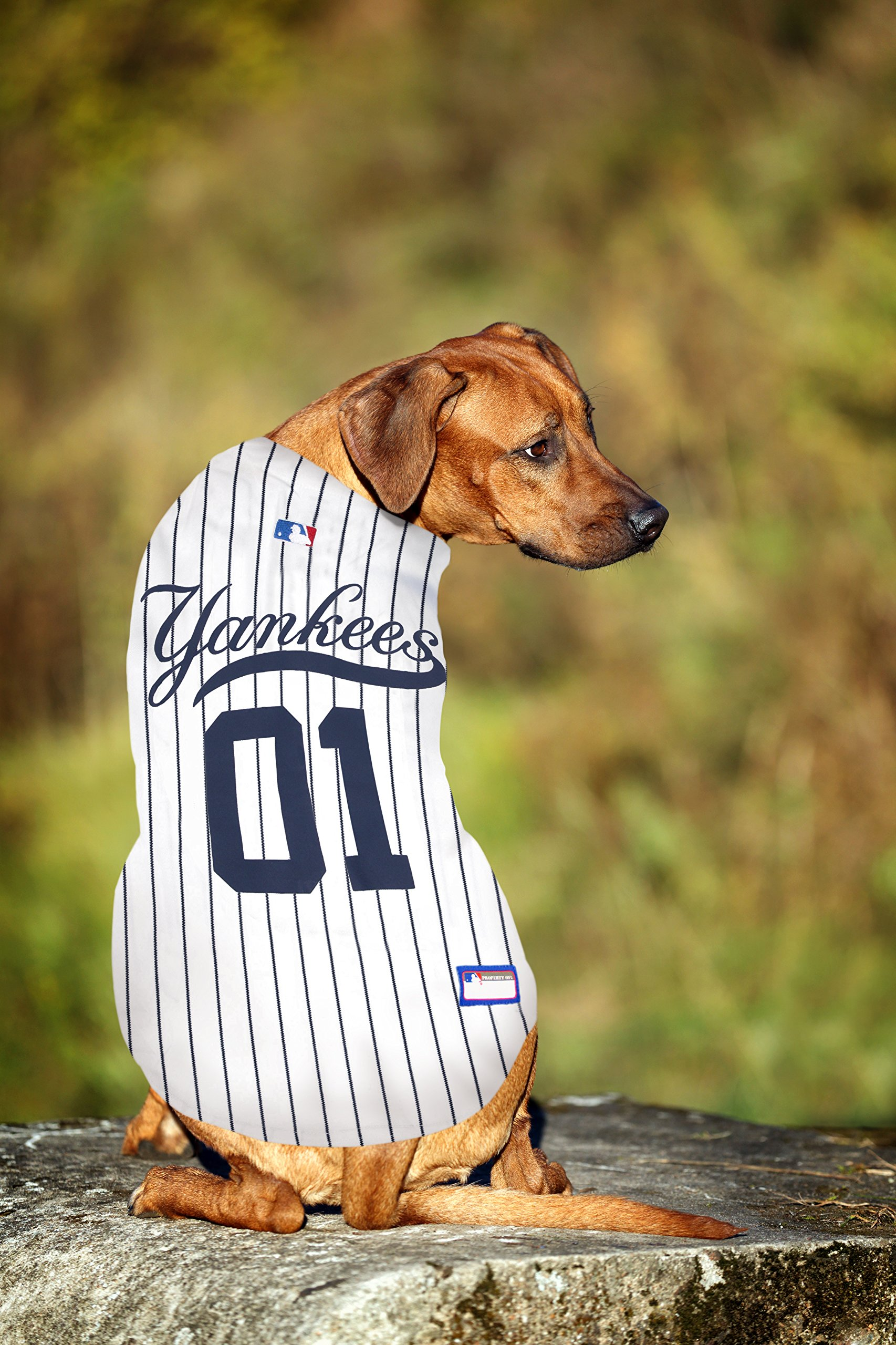 Pets First MLB New York Yankees Dog Jersey ad08a655d57