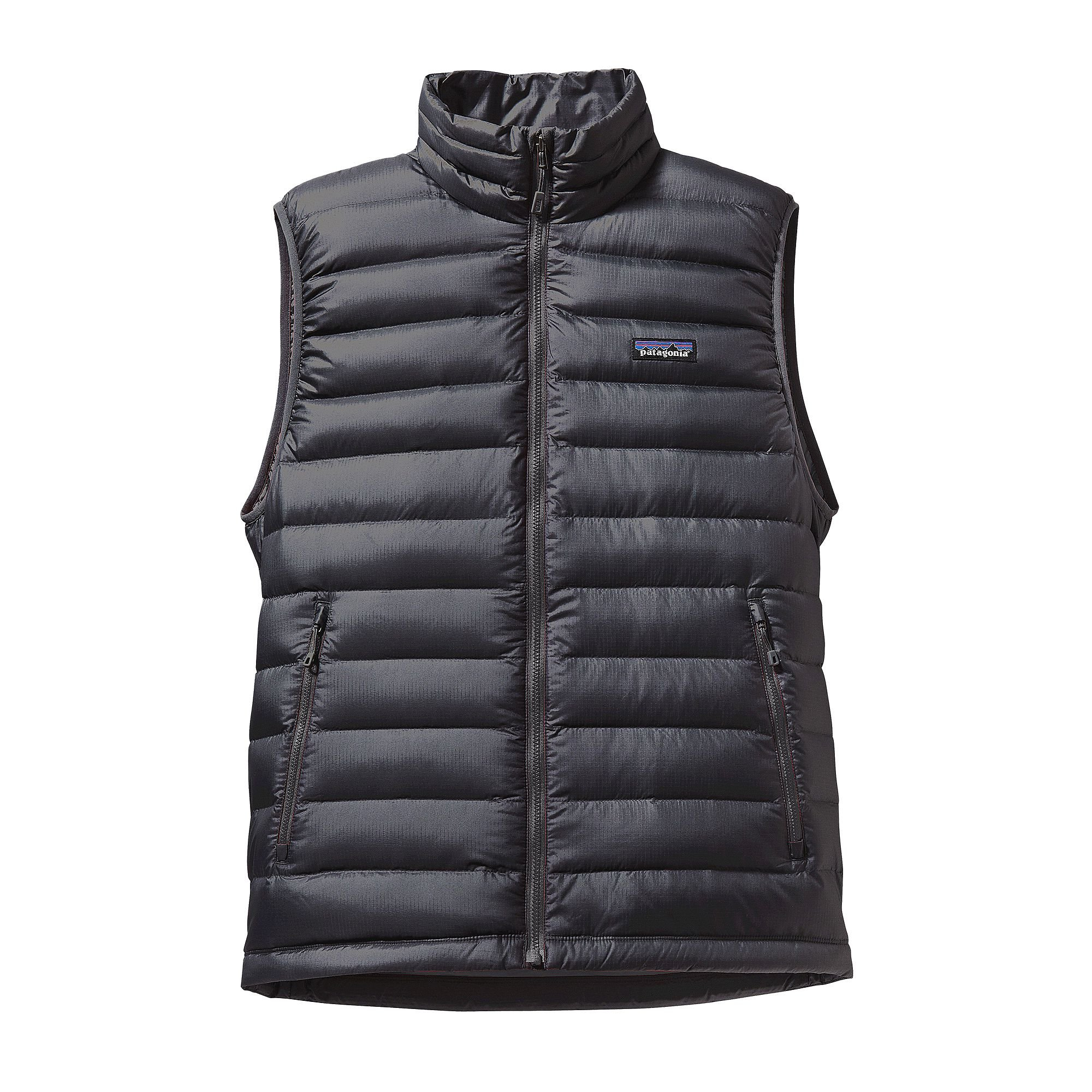 Patagonia M's Down Sweater Vest Forge Grey w/ Forge Grey (Forge Grey w/ Forge grey) by Patagonia