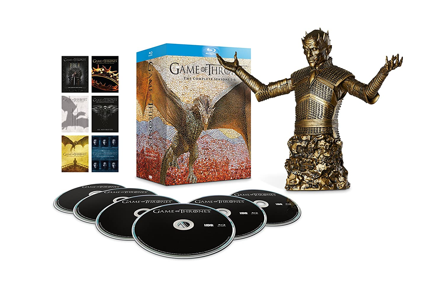 Game of Thrones - Season 1-6 Bronze Bust Edition Blu-ray