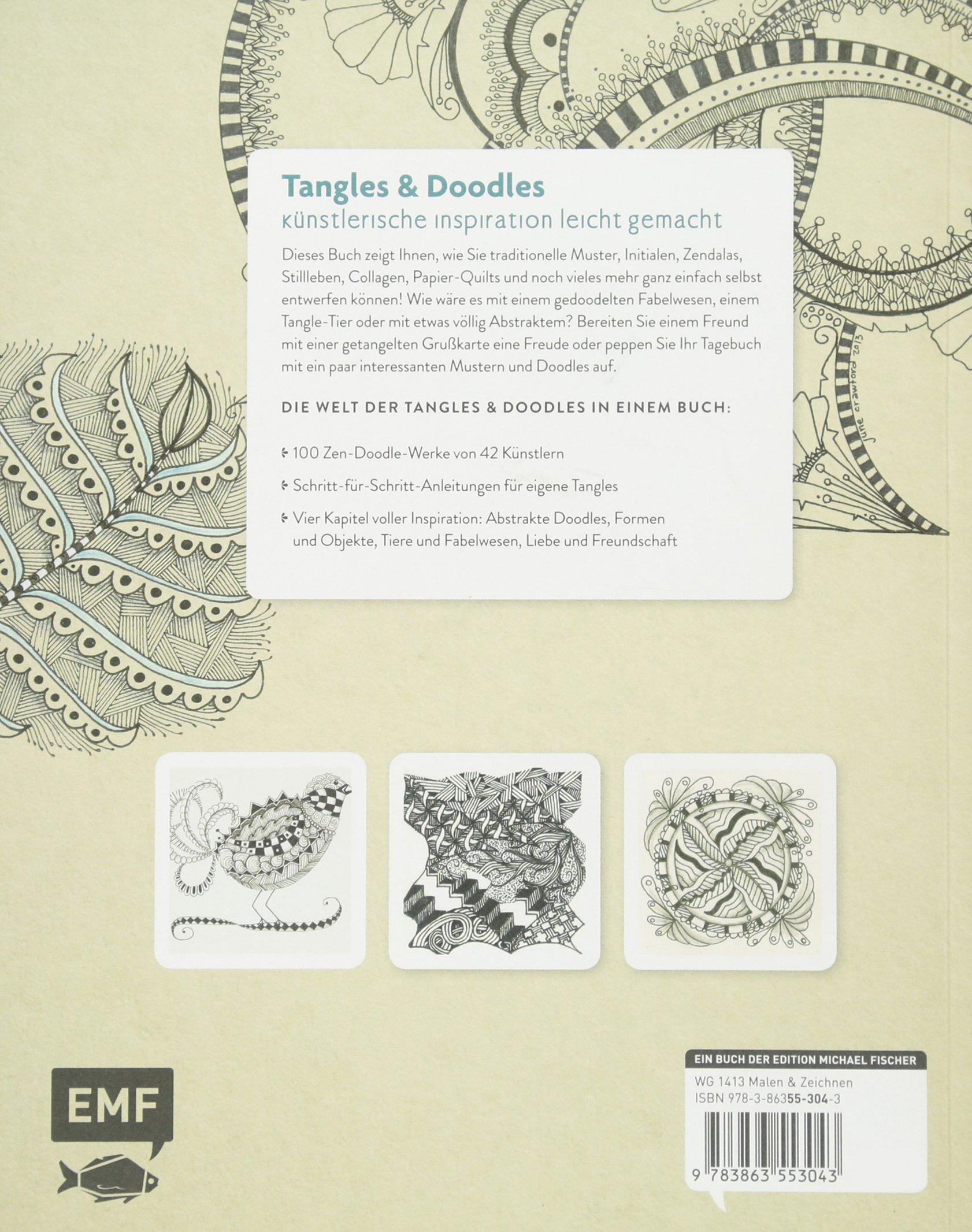 Tangles Und Doodles Inspirierende Zenmuster Zeichnen Amazonde