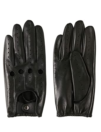 ed392cfa9 LIBO Summer Cool Non Touch Screen Motorcycle Real Leather Soft Gloves for  Male and Female