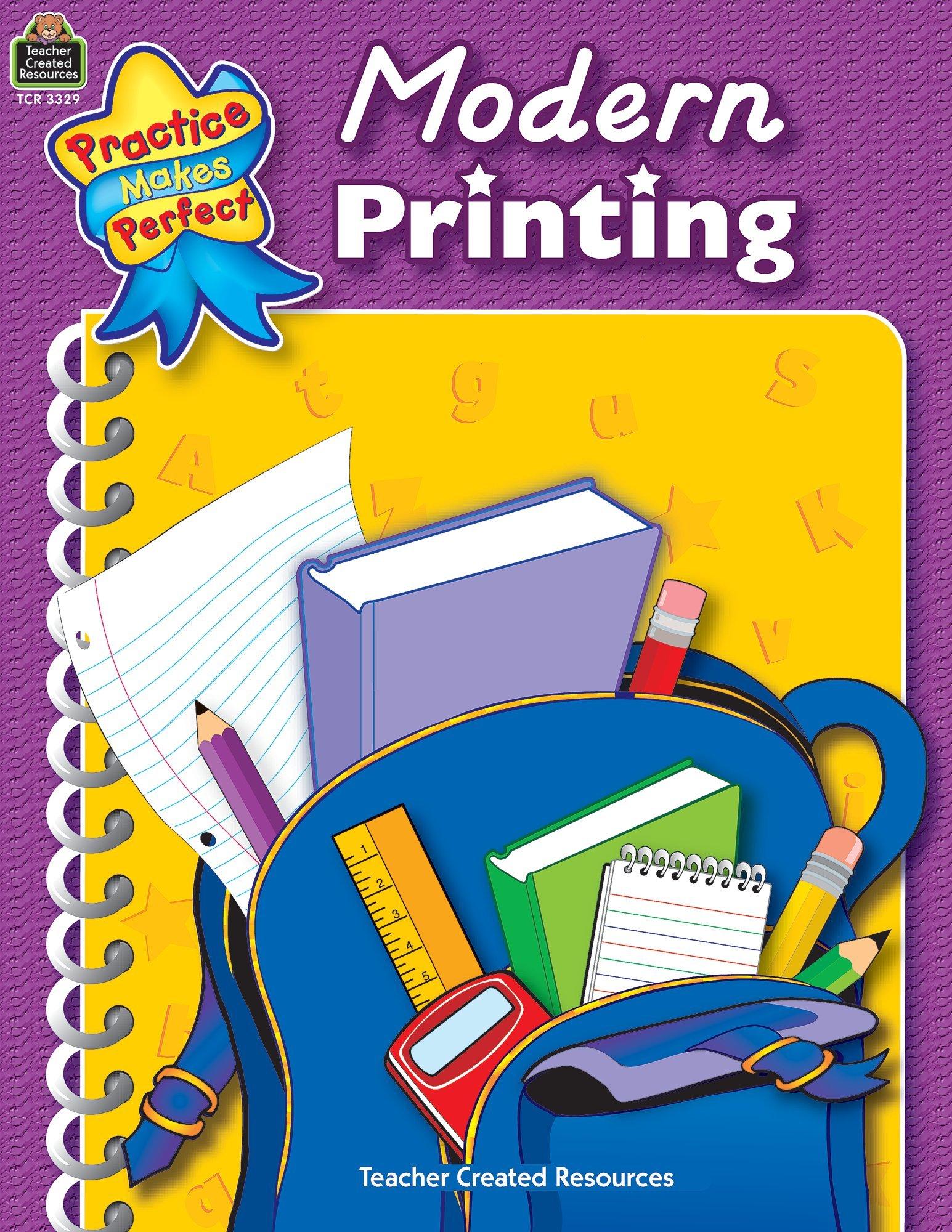 Modern Printing (Penmanship) PDF