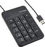 エレコム テンキーボード 有線 USB接続 1000万回高耐久 メンブレン M ブラック TK-TCM011BK