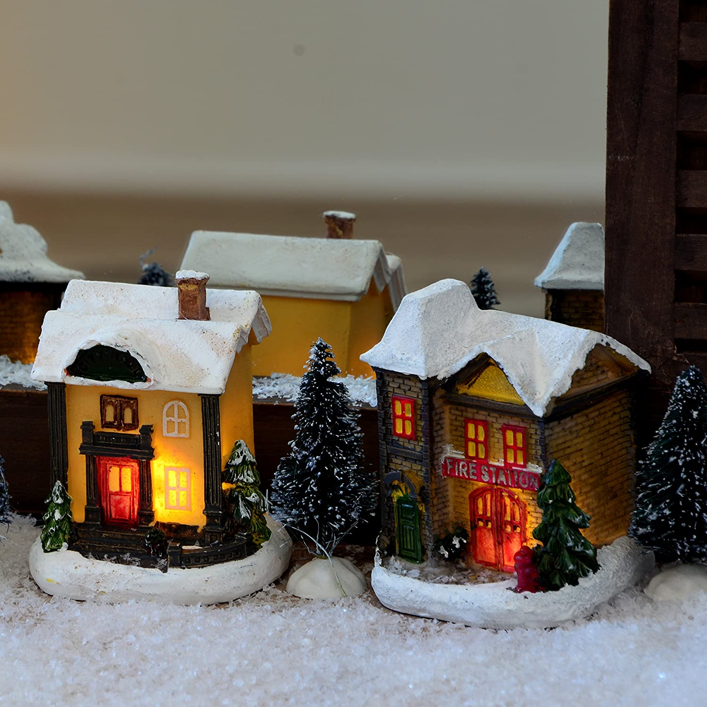 91Rn68KD7eL._SL1500_ Schöne Fensterbank Weihnachtlich Dekorieren Dekorationen