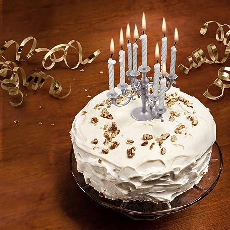 Awe Inspiring Fred Cake Candelabra Candle Cake Topper Amazon Co Uk Kitchen Home Personalised Birthday Cards Arneslily Jamesorg