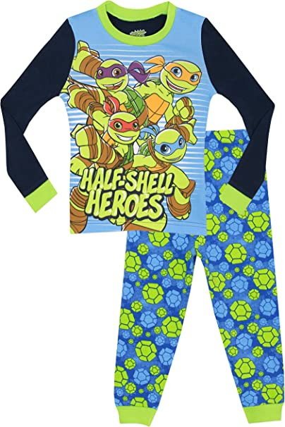 Amazon.com: Teenage Mutant Ninja Turtles BOYS Half Shell ...