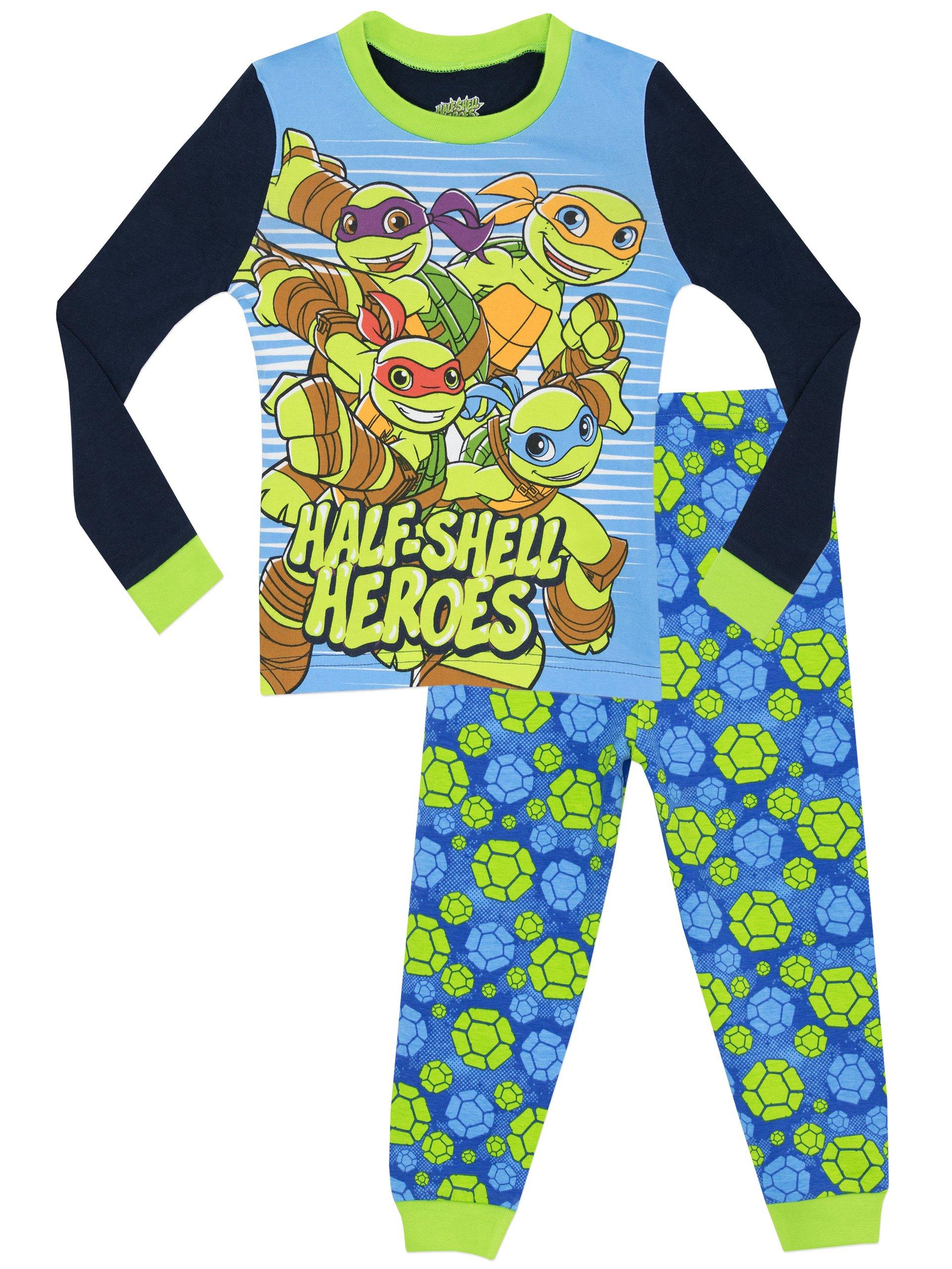Teenage Mutant Ninja Turtles Boys' Half Shell Heroes Pajamas Size 5
