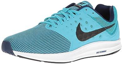 buy online 08f43 c25f8 Nike Men s Downshifter 7 Running Shoe, Chlorine Blue Black Binary Blue White
