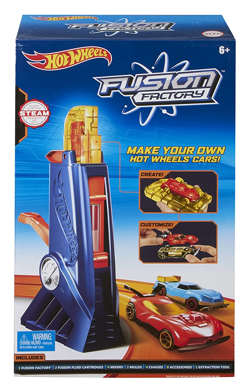 Hot Wheels Fusion Factory Car Maker