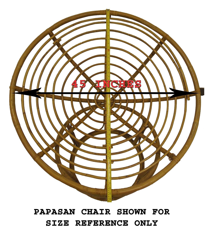 Amazon.com: Cotton Craft - Papasan Chair Cushion (unfilled shell ...