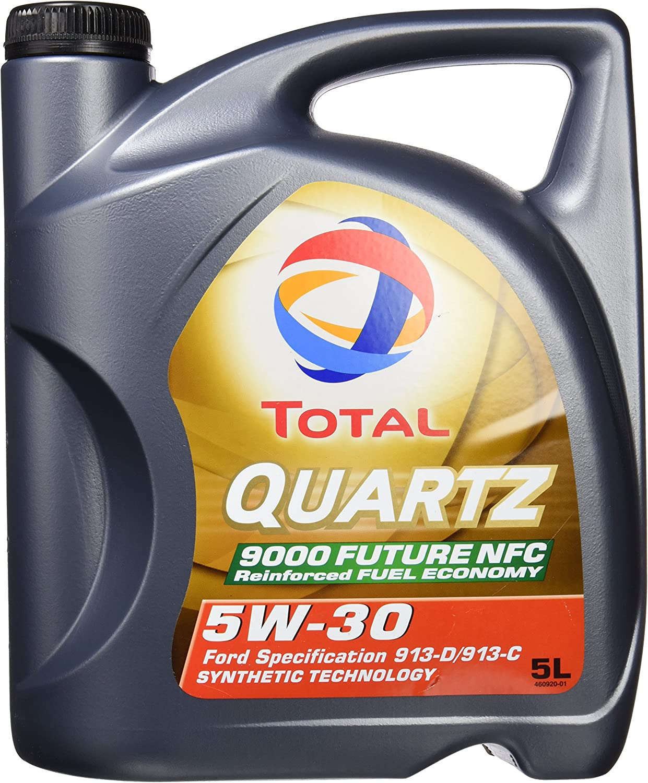 Total 183199 Quartz 9000 Future Nfc 5 W30 Lubricant 5 Litres Auto