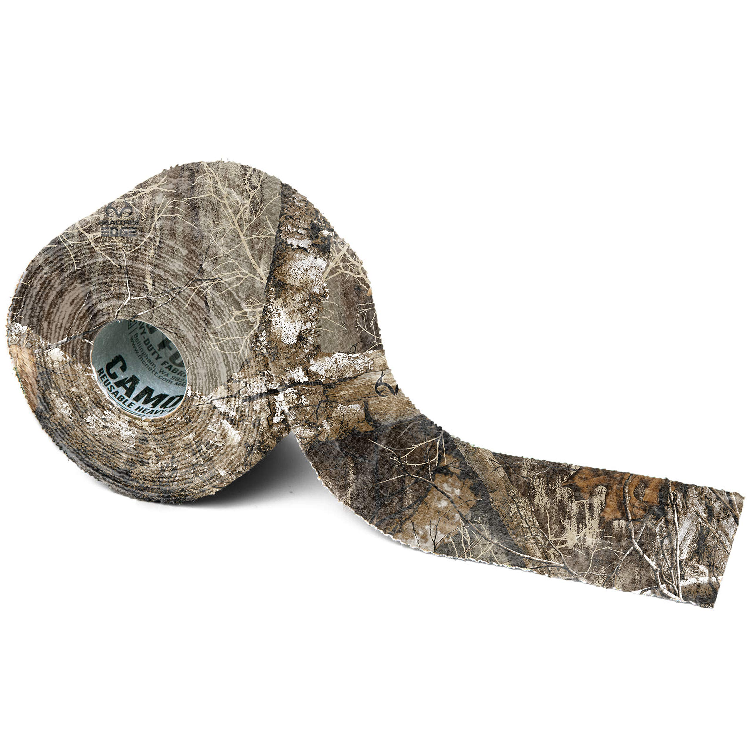 GEAR AID Camo Form Self-Cling and Reusable Camouflage Wrap, Realtree Edge, 2'' x 144'' Roll by GEAR AID