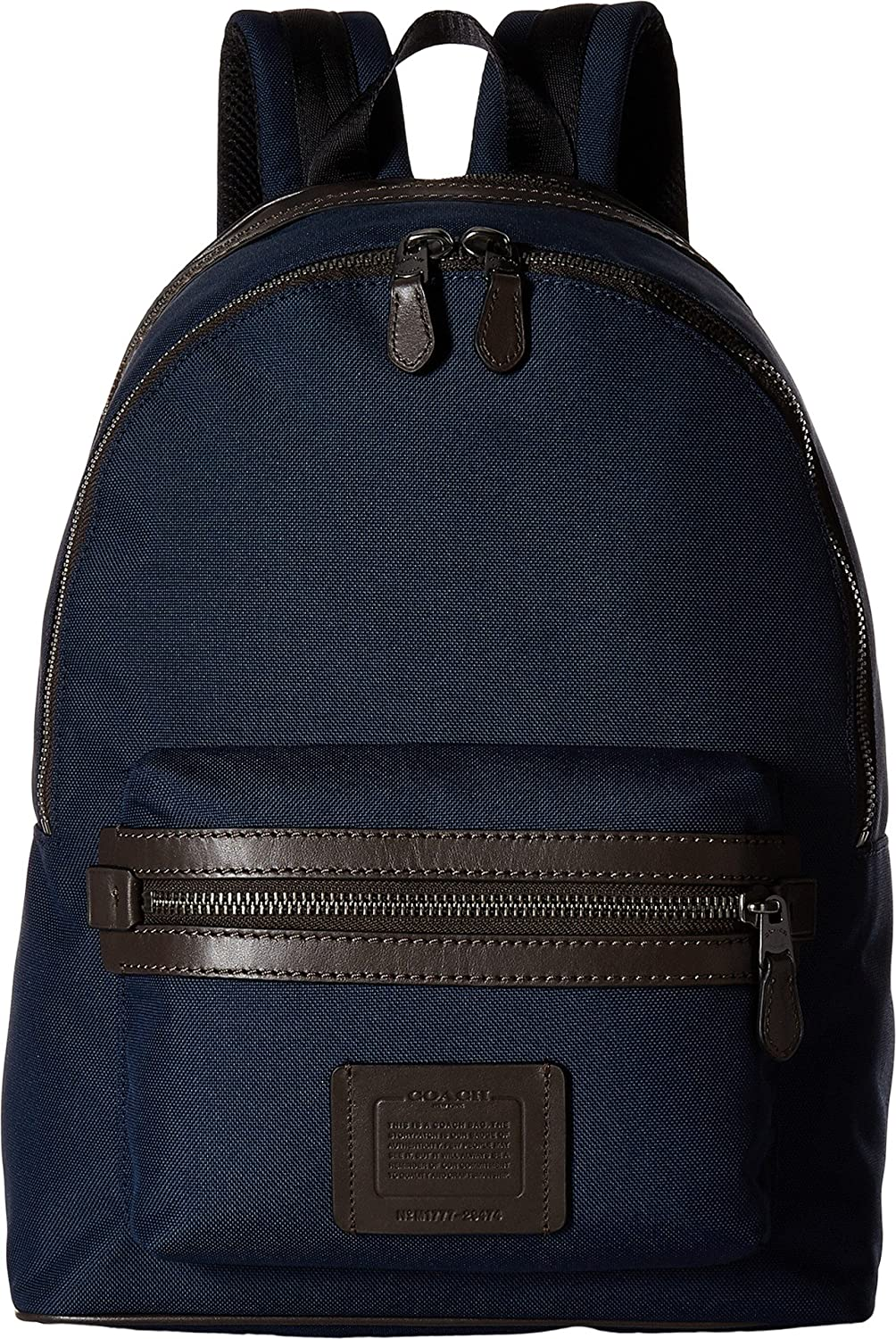 Amazon com coach mens academy backpack in cordura qb bright navy chestnut one size casual daypacks