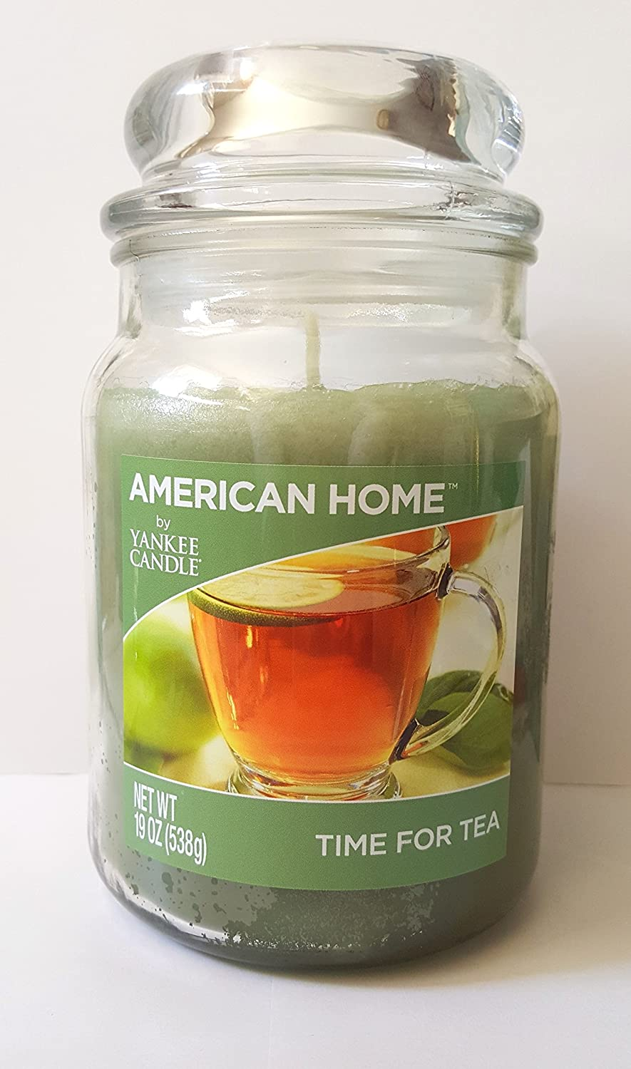Yankee Candle American Home 19 Ounce 1-Wick Jar Time for Tea Green