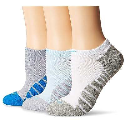 Nike Women`s Dri-FIT Cushion Graphic No Show Socks 3 Pack