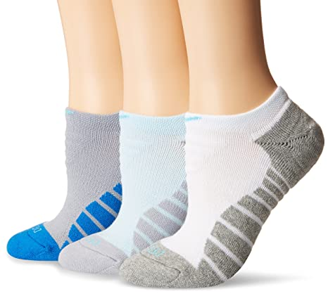 low priced 22f6a 1a192 Image Unavailable. Image not available for. Color  Nike Women`s Dri-FIT  Cushion Graphic No Show Socks 3 Pack ...