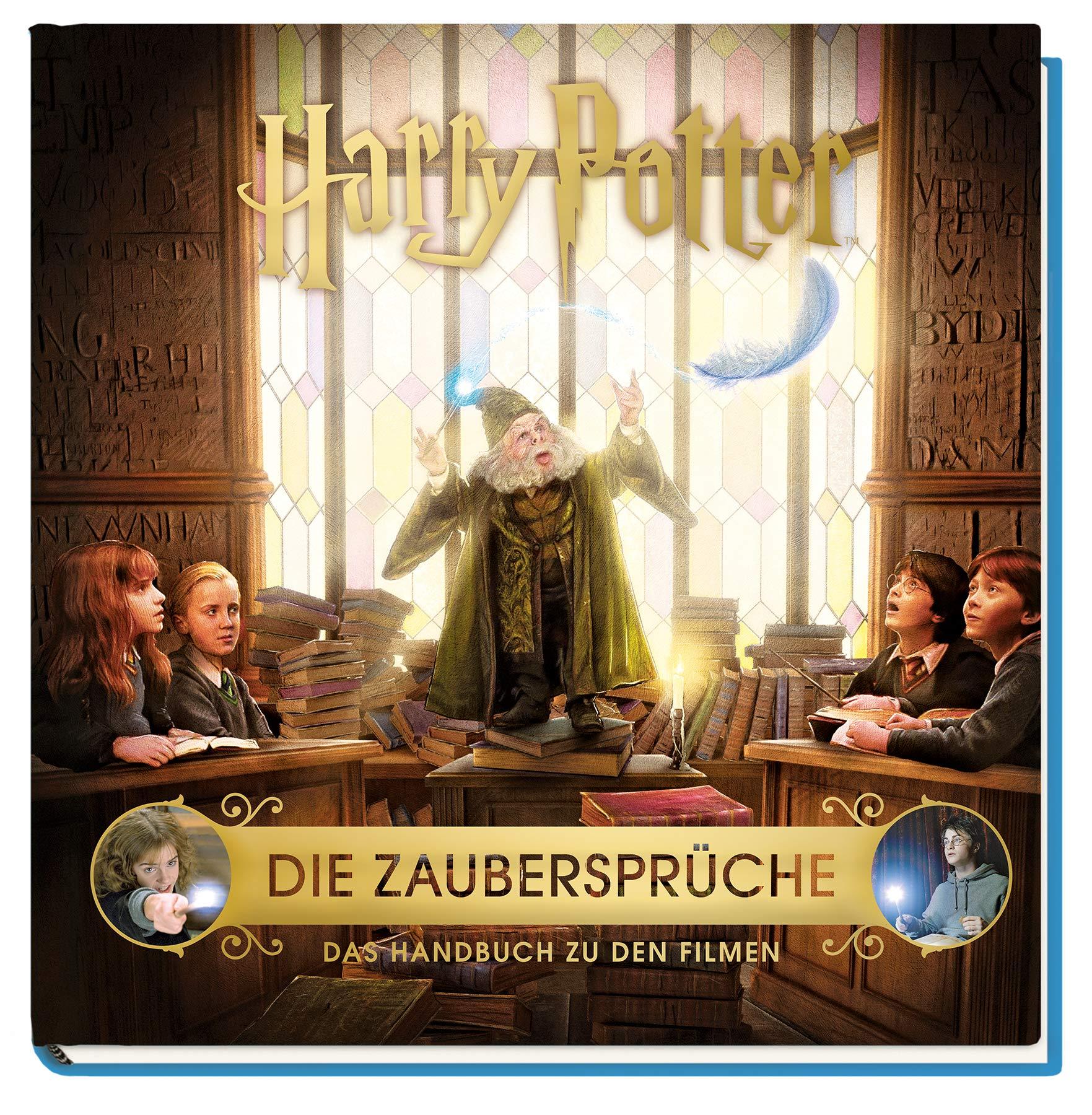 Harry Potter Die Zauberspruche Das Handbuch Zu Den Filmen Revenson Jody 9783833237577 Amazon Com Books